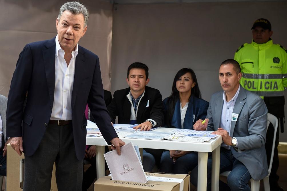 Juan Manuel Santos Presidente Colombia