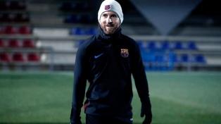 Messi se reincorporó a Barcelona tras el nacimiento de su tercer hijo