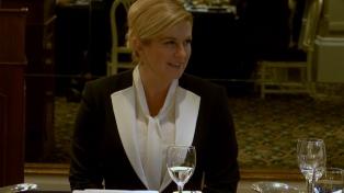 La presidenta de Croacia apoyó un acuerdo entre el Mercosur y la Unión Europea