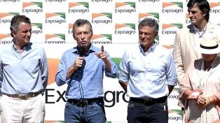 """Macri, a los productores afectados por la sequía: """"No están solos"""""""