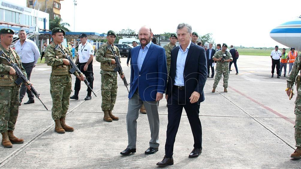 Mauricio Macri visita Formosa