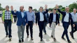 """Macri: """"Lo importante es que hoy demos una demostración de cómo nos comportamos"""""""
