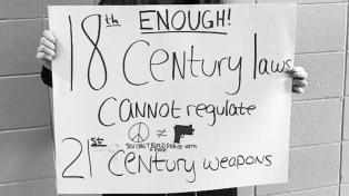 Estudiantes de EEUU pararon en el #NationalWalkoutDay para pedir control a las armas