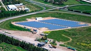 Inauguraron un parque fotovoltaico en la localidad de San Lorenzo