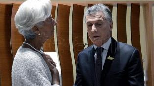 La directora del FMI dará una charla con el ministro Dujovne