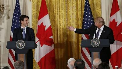 Trump y Trudeau dejan de lado sus diferencias para dar un impulso al Tratado de libre comercio