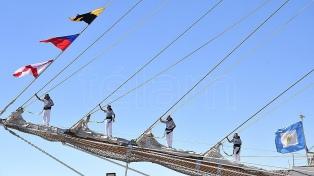La fragata Libertad zarpa en su 47° viaje anual de instrucción