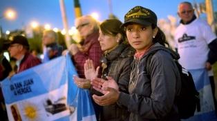 Familiares de los tripulantes del ARA San Juan pidieron más recursos para la búsqueda