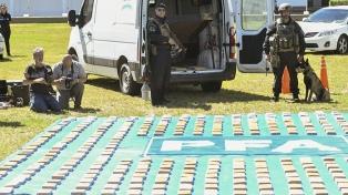 La Policía Federal secuestró un cargamento de cocaína y paco valuado en $92 millones