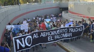 Vecinos pidieron ante la Justicia la clausura de la base de El Palomar
