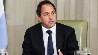 """Scioli busca dejar atrás """"la pirotecnia verbal"""" entre Argentina y Brasil"""