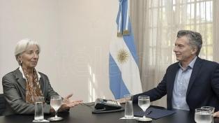 Macri se reunirá en Osaka con la directora del FMI