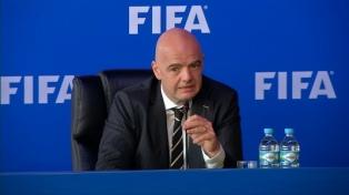 Infantino quiere 48 equipos en el mundial de Qatar 2022