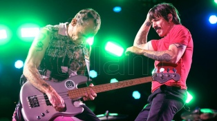 Los Red Hot Chili Peppers se destacaron en el Lollapalooza