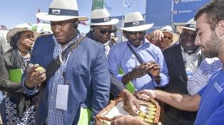Ministros de Agricultura del Caribe concluyeron su gira por la Argentina