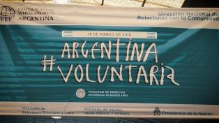 60 organizaciones de la sociedad civil participaron de #ArgentinaVoluntaria