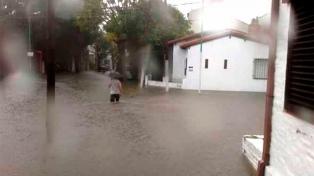 """""""Cayó la lluvia de tres meses en 12 horas"""", afirmó la Municipalidad de La Plata"""