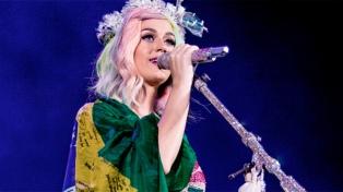 Katy Perry se convirtió en la mujer mejor paga de la música