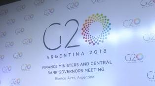 Se desacelera el crecimiento de los países integrantes del G20