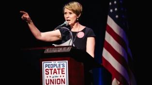 La actriz Cynthia Nixon anunció su precandidatura a gobernadora