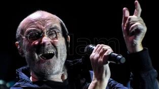 Impactante show de Phil Collins, en un encuentro con la nostalgia en Córdoba