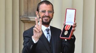 Ringo Starr recibió la Orden de Caballero del Imperio Británico