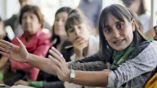 Romina del Plá desafió a debatir a los precandidatos a la vicepresidencia