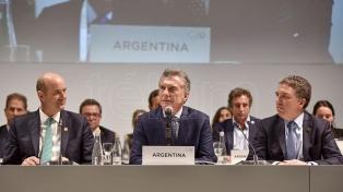 """Macri abogó en favor de que el G20 """"ponga las necesidades de la gente en primer plano"""""""