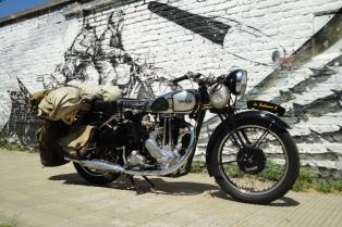 Una muestra de motos clásicas que recorre un siglo de historia