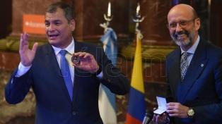 """Correa dijo que hay """"una restauración conservadora"""" en la región"""