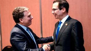 EEUU destacó la importancia del acuerdo entre la Argentina y el FMI