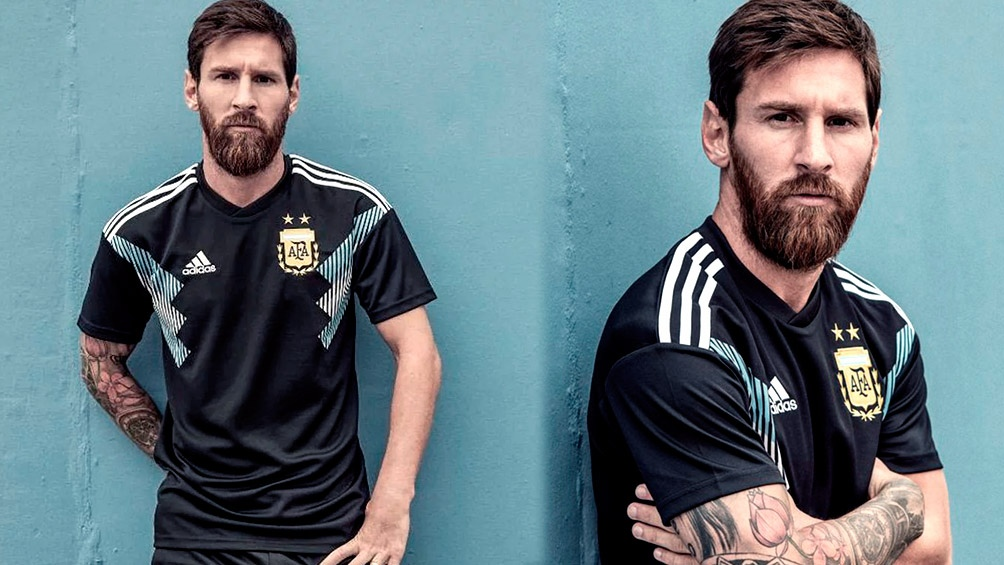 La selección argentina jugará en los próximos días dos amistosos y en ellos  podría estrenar su nueva camiseta suplente 430b9abb071ec