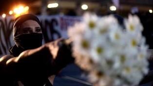 Miles de personas se manifestaron en memoria de Marielle Franco