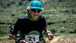 Elisa Forti, la bisabuela runner, ahora conquistó el Fin del Mundo