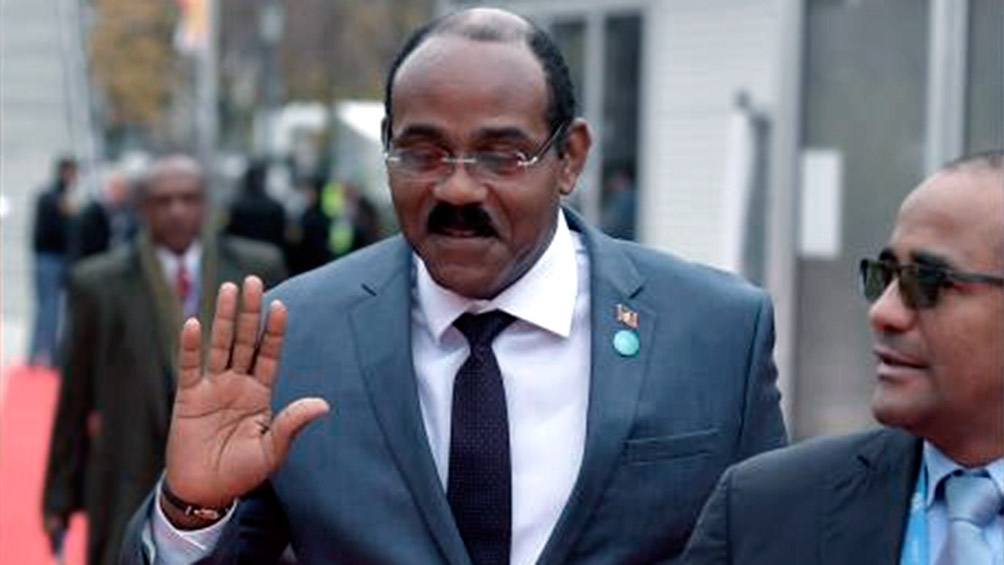 Gaston Browne, primer ministro