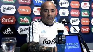 """Messi está bien para jugar"", aseguró Sampaoli"