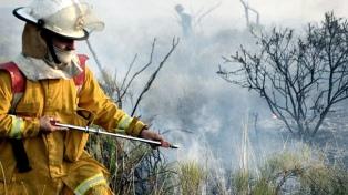 Un incendio afecta a una reserva natural en la provincia