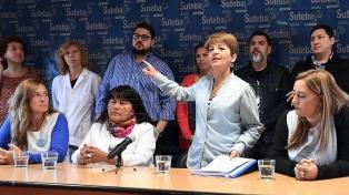 Los gremios docentes advirtieron sobre un paro en abril si Vidal no mejora la oferta