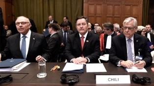 Chile defiende en La Haya que no está obligada a negociar una salida al mar