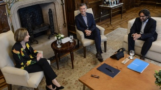 Macri recibió a Inés Weinberg, a quien propondrá como procuradora general