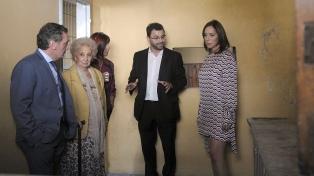 """Vidal, junto a Estela de Carlotto: """"La memoria no tiene banderías políticas"""""""