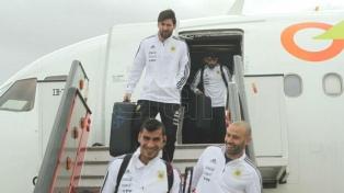 Argentina arribó a Madrid para el jugar su último amistoso europeo