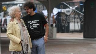 """""""Hoy es un día de lucha"""", afirmó Estela de Carlotto"""