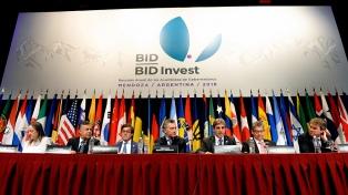 La Argentina preside desde este sábado la Asamblea de Gobernadores del BID