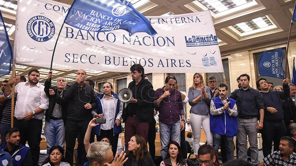 BANCO NACIÓN: Anuncian un paro para el miércoles que podría afectar a otras entidades