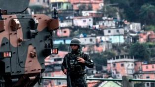 Protestas y megaoperativo en Río de Janeiro por la muerte de un adolescente