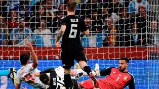 España vapuleó a la Selección argentina