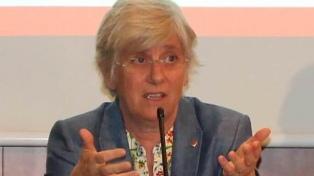 La dirigente secesionista Clara Ponsatí  se entregó a las autoridades escocesas
