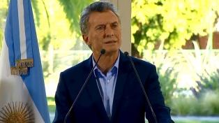 """Macri aseguró que la reducción de la pobreza es su """"principal preocupación y prioridad"""""""