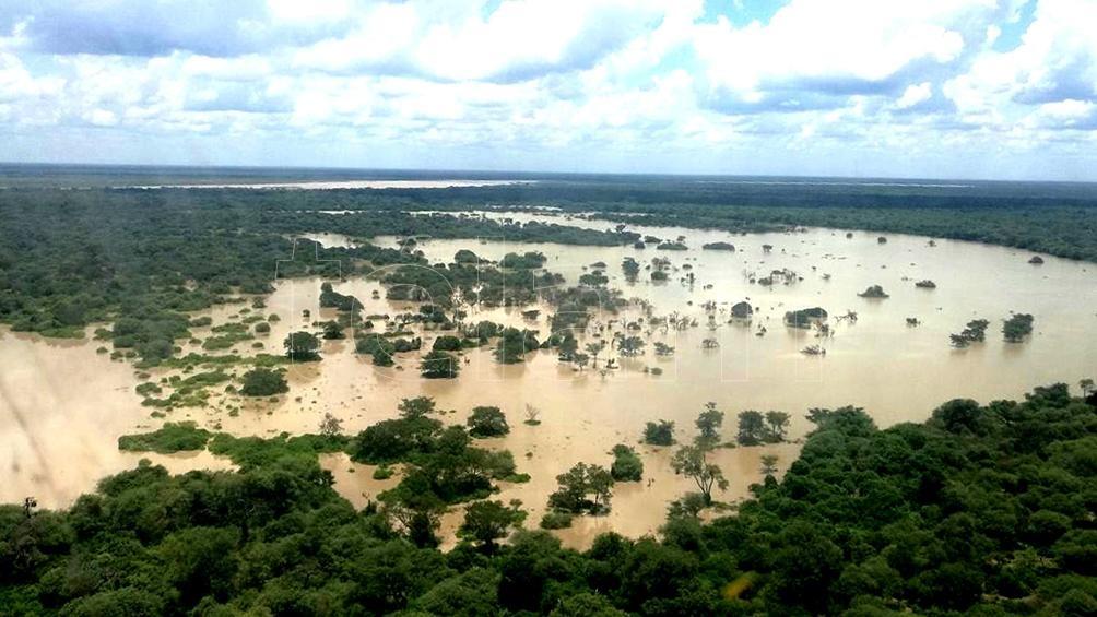 FORMOSA: Los desbordes del Pilcomayo causaron pérdidas de infraestructura en el oeste